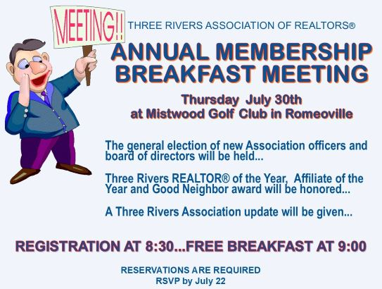 Annual membership breakfast meeting 2020 graphic