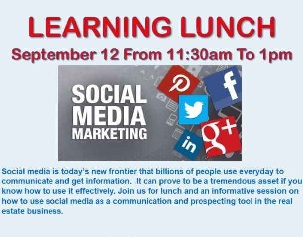 September Learning Lunch graphic update