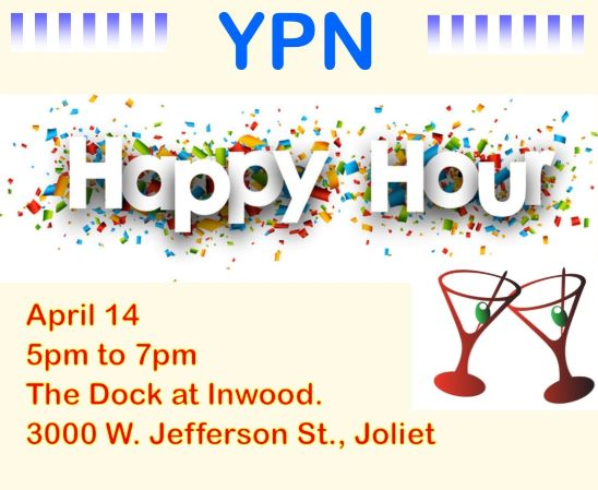 YPN Happy Hour April 14 graphic