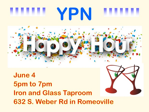 YPN Happy Hour graphic June 2019