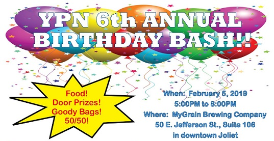 YPN 6th Annual Birthday Bash graphic
