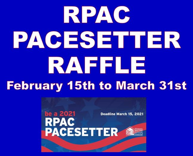 RPAC Pacesetter Raffle 2021